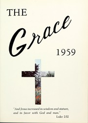 Page 5, 1959 Edition, Grace Theological Seminary - Xapis / Grace Yearbook (Winona Lake, IN) online yearbook collection