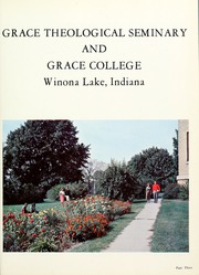 Page 7, 1959 Edition, Grace Theological Seminary - Xapis / Grace Yearbook (Winona Lake, IN) online yearbook collection