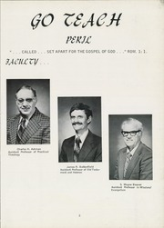 Page 7, 1976 Edition, Grace Theological Seminary - Xapis / Grace Yearbook (Winona Lake, IN) online yearbook collection