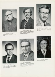 Page 9, 1976 Edition, Grace Theological Seminary - Xapis / Grace Yearbook (Winona Lake, IN) online yearbook collection