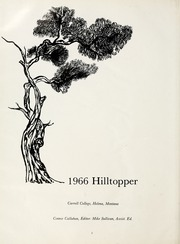 Page 6, 1966 Edition, Carroll College - Hilltopper Yearbook (Helena, MT) online yearbook collection