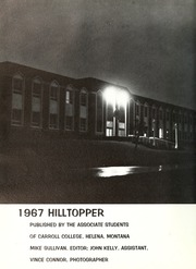 Page 6, 1967 Edition, Carroll College - Hilltopper Yearbook (Helena, MT) online yearbook collection