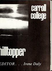 Page 5, 1973 Edition, Carroll College - Hilltopper Yearbook (Helena, MT) online yearbook collection