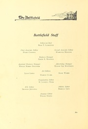 Page 14, 1924 Edition, Mary Washington College - Battlefield Yearbook (Fredericksburg, VA) online yearbook collection