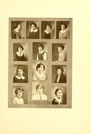 Page 15, 1924 Edition, Mary Washington College - Battlefield Yearbook (Fredericksburg, VA) online yearbook collection