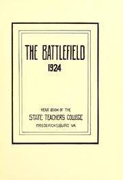Page 9, 1924 Edition, Mary Washington College - Battlefield Yearbook (Fredericksburg, VA) online yearbook collection