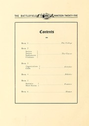 Page 12, 1925 Edition, Mary Washington College - Battlefield Yearbook (Fredericksburg, VA) online yearbook collection