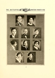 Page 15, 1925 Edition, Mary Washington College - Battlefield Yearbook (Fredericksburg, VA) online yearbook collection