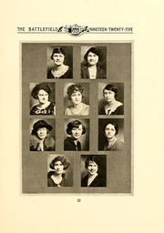 Page 17, 1925 Edition, Mary Washington College - Battlefield Yearbook (Fredericksburg, VA) online yearbook collection