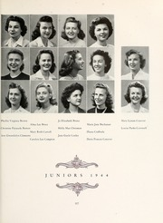 Page 121, 1944 Edition, Mary Washington College - Battlefield Yearbook (Fredericksburg, VA) online yearbook collection