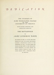 Page 9, 1944 Edition, Mary Washington College - Battlefield Yearbook (Fredericksburg, VA) online yearbook collection