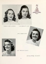 Page 91, 1944 Edition, Mary Washington College - Battlefield Yearbook (Fredericksburg, VA) online yearbook collection