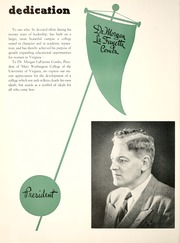 Page 12, 1949 Edition, Mary Washington College - Battlefield Yearbook (Fredericksburg, VA) online yearbook collection