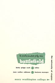 Page 9, 1949 Edition, Mary Washington College - Battlefield Yearbook (Fredericksburg, VA) online yearbook collection