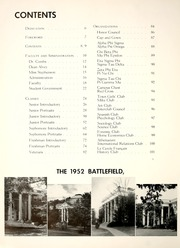 Page 12, 1952 Edition, Mary Washington College - Battlefield Yearbook (Fredericksburg, VA) online yearbook collection