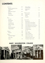 Page 13, 1952 Edition, Mary Washington College - Battlefield Yearbook (Fredericksburg, VA) online yearbook collection