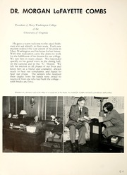 Page 16, 1952 Edition, Mary Washington College - Battlefield Yearbook (Fredericksburg, VA) online yearbook collection