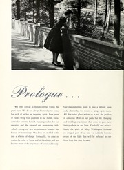 Page 12, 1957 Edition, Mary Washington College - Battlefield Yearbook (Fredericksburg, VA) online yearbook collection