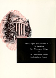 Page 8, 1957 Edition, Mary Washington College - Battlefield Yearbook (Fredericksburg, VA) online yearbook collection