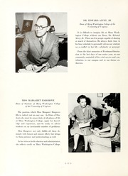 Page 16, 1959 Edition, Mary Washington College - Battlefield Yearbook (Fredericksburg, VA) online yearbook collection
