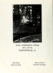 Page 8, 1970 Edition, Mary Washington College - Battlefield Yearbook (Fredericksburg, VA) online yearbook collection