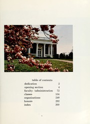 Page 9, 1970 Edition, Mary Washington College - Battlefield Yearbook (Fredericksburg, VA) online yearbook collection