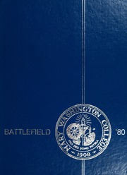 1980 Edition, Mary Washington College - Battlefield Yearbook (Fredericksburg, VA)
