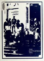 1981 Edition, Mary Washington College - Battlefield Yearbook (Fredericksburg, VA)