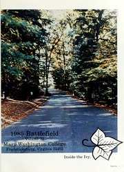 Page 5, 1985 Edition, Mary Washington College - Battlefield Yearbook (Fredericksburg, VA) online yearbook collection