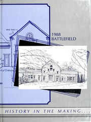 1988 Edition, Mary Washington College - Battlefield Yearbook (Fredericksburg, VA)