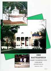 Page 5, 1988 Edition, Mary Washington College - Battlefield Yearbook (Fredericksburg, VA) online yearbook collection