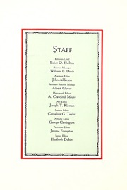Page 14, 1928 Edition, Washington College - Pegasus Yearbook (Chestertown, MD) online yearbook collection