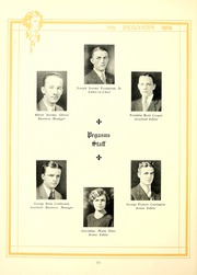 Page 14, 1929 Edition, Washington College - Pegasus Yearbook (Chestertown, MD) online yearbook collection