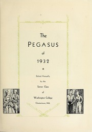 Page 7, 1932 Edition, Washington College - Pegasus Yearbook (Chestertown, MD) online yearbook collection
