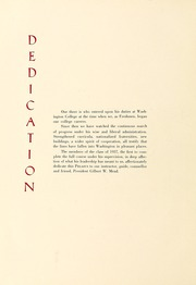 Page 10, 1937 Edition, Washington College - Pegasus Yearbook (Chestertown, MD) online yearbook collection