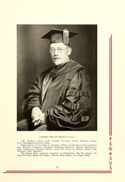Page 15, 1937 Edition, Washington College - Pegasus Yearbook (Chestertown, MD) online yearbook collection