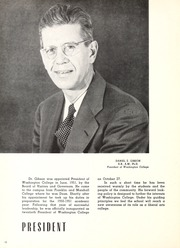 Page 14, 1952 Edition, Washington College - Pegasus Yearbook (Chestertown, MD) online yearbook collection