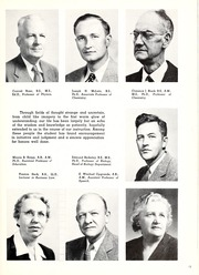 Page 17, 1952 Edition, Washington College - Pegasus Yearbook (Chestertown, MD) online yearbook collection