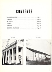 Page 9, 1952 Edition, Washington College - Pegasus Yearbook (Chestertown, MD) online yearbook collection
