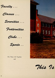 Page 12, 1957 Edition, Washington College - Pegasus Yearbook (Chestertown, MD) online yearbook collection