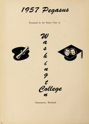Page 6, 1957 Edition, Washington College - Pegasus Yearbook (Chestertown, MD) online yearbook collection