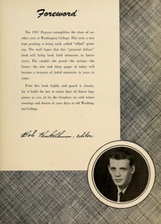 Page 7, 1957 Edition, Washington College - Pegasus Yearbook (Chestertown, MD) online yearbook collection