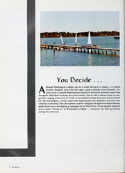 Page 6, 1988 Edition, Washington College - Pegasus Yearbook (Chestertown, MD) online yearbook collection