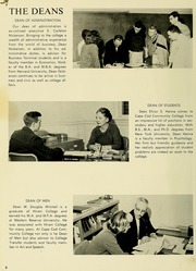 Page 10, 1963 Edition, Cape Cod Community College - Foreseer Yearbook (West Barnstable, MA) online yearbook collection