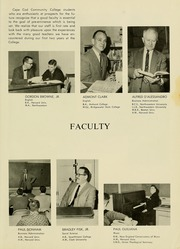 Page 11, 1963 Edition, Cape Cod Community College - Foreseer Yearbook (West Barnstable, MA) online yearbook collection