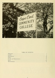 Page 6, 1965 Edition, Cape Cod Community College - Foreseer Yearbook (West Barnstable, MA) online yearbook collection