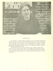Page 10, 1973 Edition, Cape Cod Community College - Foreseer Yearbook (West Barnstable, MA) online yearbook collection
