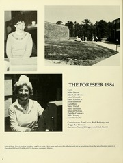 Page 6, 1984 Edition, Cape Cod Community College - Foreseer Yearbook (West Barnstable, MA) online yearbook collection
