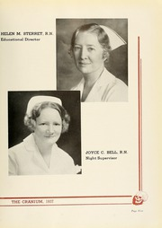 Page 13, 1937 Edition, Philadelphia Osteopathic Hospital School of Nursing - Cranium Yearbook (Philadelphia, PA) online yearbook collection