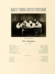 Page 12, 1913 Edition, Longwood College - Virginian Yearbook (Farmville, VA) online yearbook collection